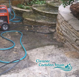 stone patio cleaning camden town